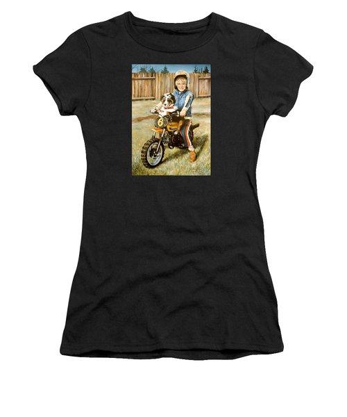 A Ride In The Backyard Women's T-Shirt