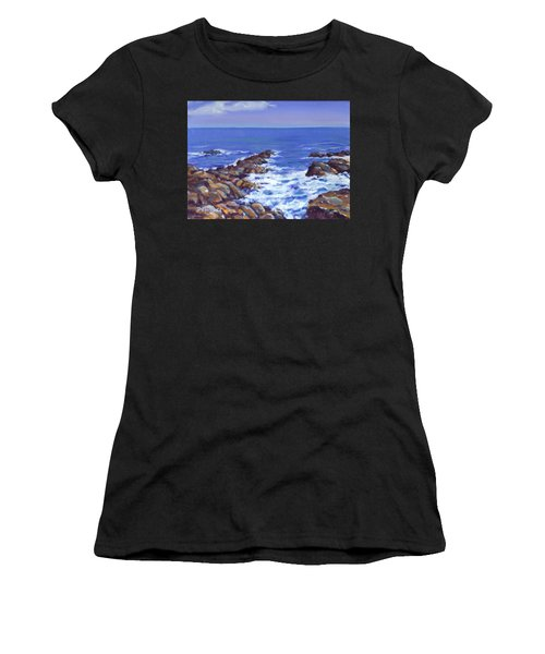 A Rocky Coast Women's T-Shirt (Athletic Fit)