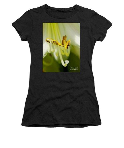 A Single Flower In Full Bloom Women's T-Shirt (Athletic Fit)