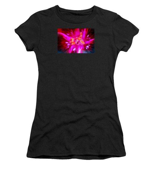 A Splash Of Colour Women's T-Shirt (Junior Cut) by Wendy Wilton