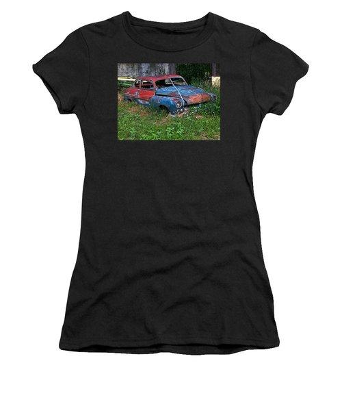 Abandoned 1950 Mercury Monteray Buick Women's T-Shirt