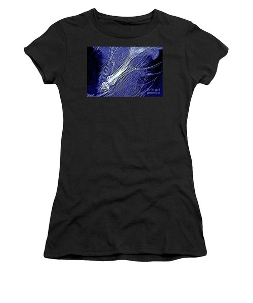 Women's T-Shirt (Junior Cut) featuring the photograph Aberration Of Jelly Fish In Rhapsody Series 5 by Antonia Citrino