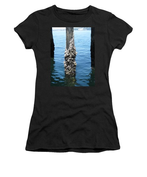 Above The Line Women's T-Shirt (Junior Cut) by David Trotter