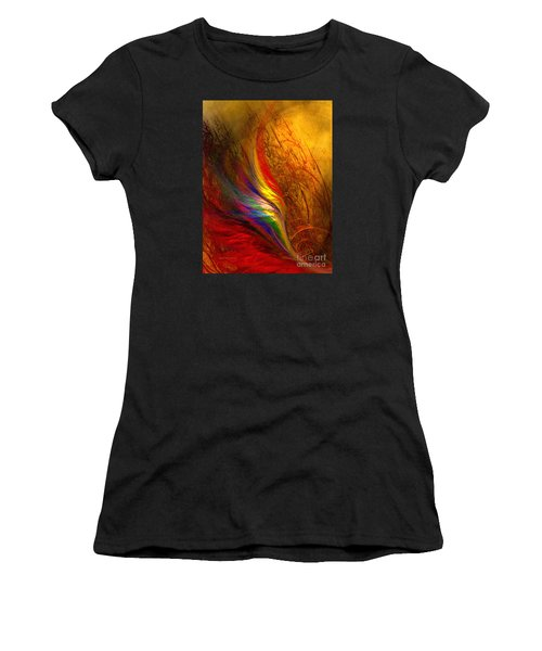 Abstract Art Print Sayings Women's T-Shirt