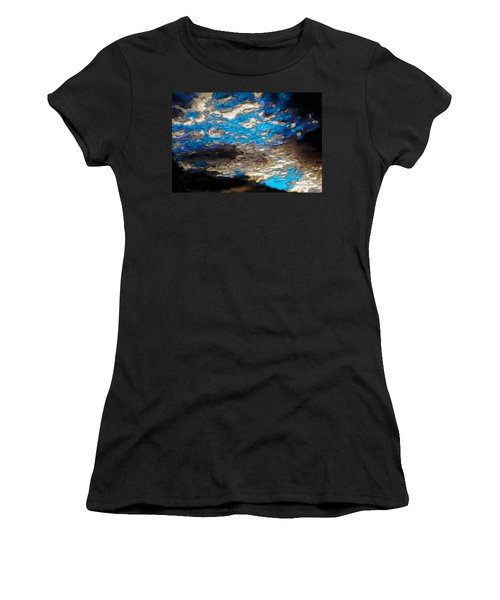 Abstract Clouds Women's T-Shirt (Athletic Fit)