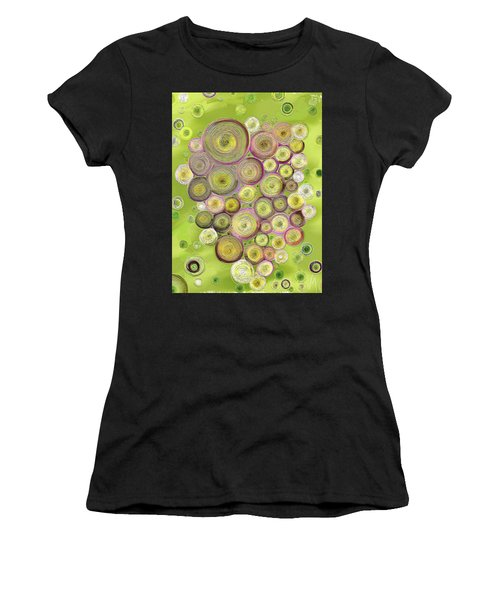 Abstract Grapes Women's T-Shirt (Athletic Fit)