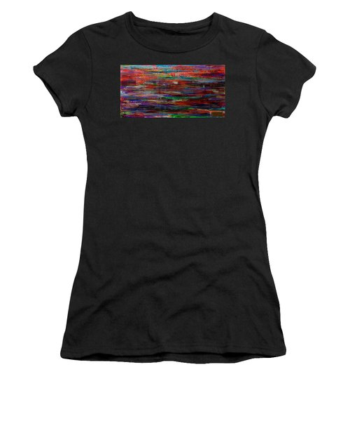 Abstract In Reflection Women's T-Shirt