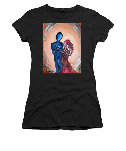 Abstract Romance Women's T-Shirt (Athletic Fit)