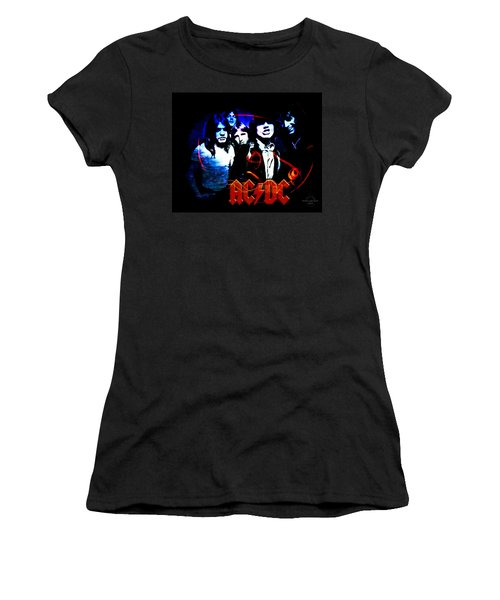 Ac/dc  Women's T-Shirt (Athletic Fit)