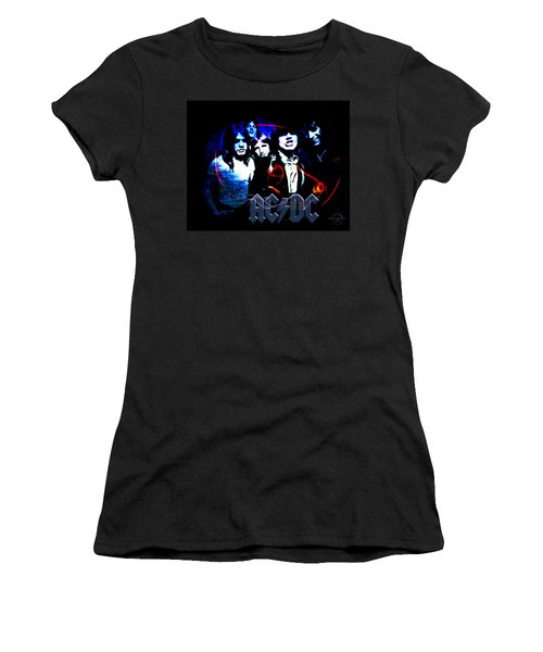 Ac/dc - Rock Women's T-Shirt (Athletic Fit)