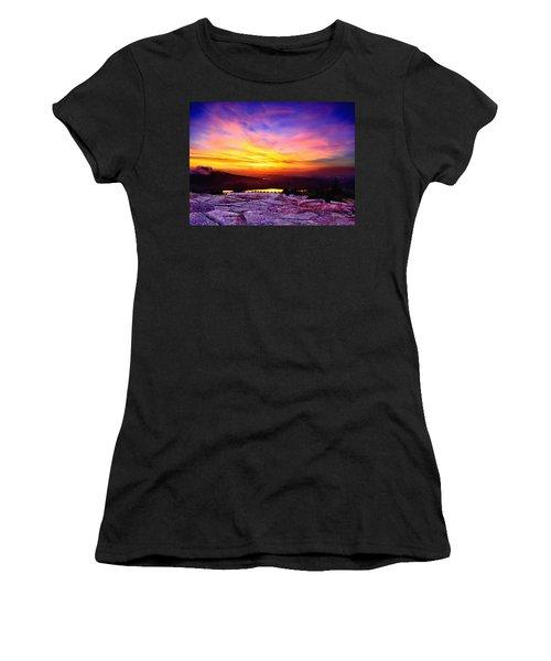 Acadia National Park Cadillac Mountain Sunrise Forsale Women's T-Shirt