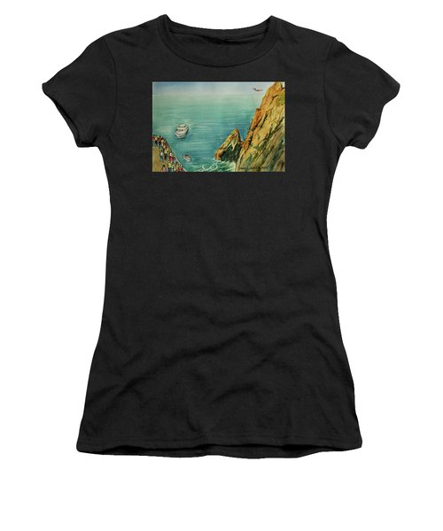 Acapulco Cliff Diver Women's T-Shirt
