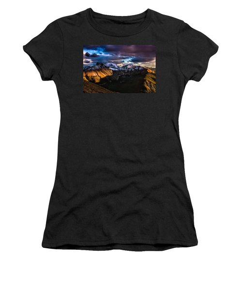 Across The Valley Women's T-Shirt (Athletic Fit)