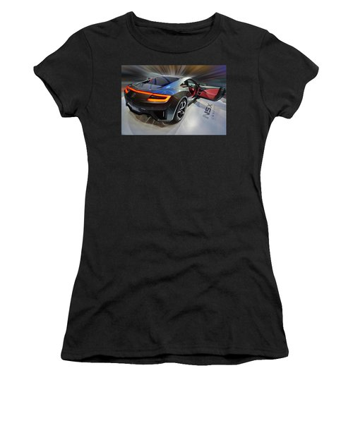 Acura N S X  Concept 2013 Women's T-Shirt (Athletic Fit)