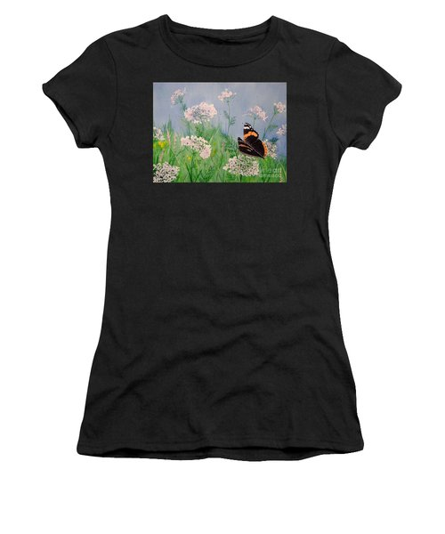 Admiral And Lace Women's T-Shirt