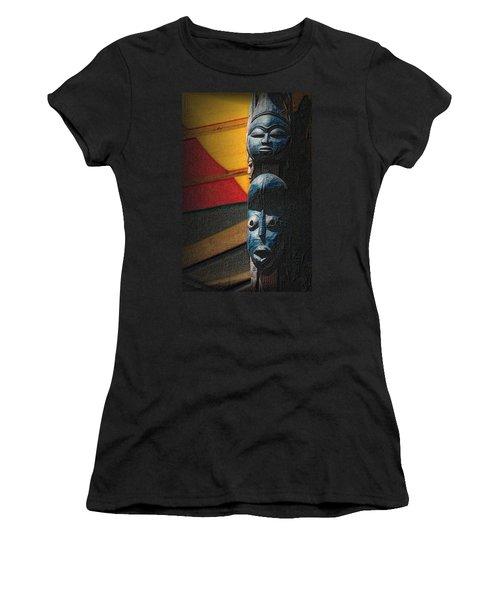 African Masks Women's T-Shirt