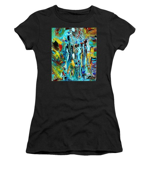 African Tribe Festivals Women's T-Shirt (Junior Cut) by Kelly Turner