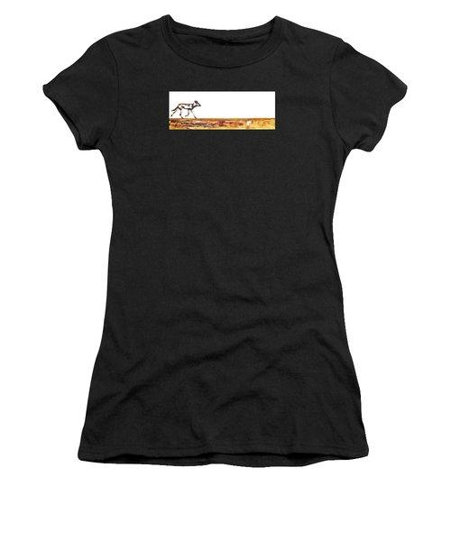 Endangered African Wild Dog - Original Artwork Women's T-Shirt