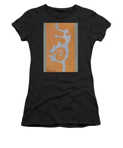 Swirl  Women's T-Shirt (Junior Cut) by Patricia Cleasby