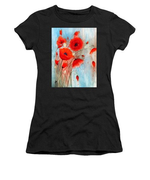 After The Rain.. Women's T-Shirt (Athletic Fit)