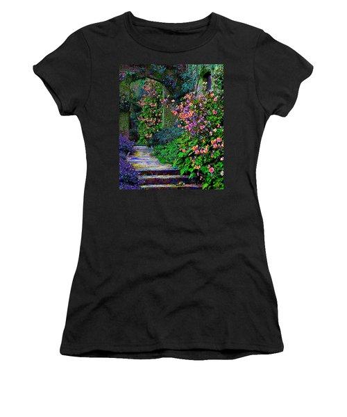 After The Rain Women's T-Shirt (Junior Cut) by Michele Avanti