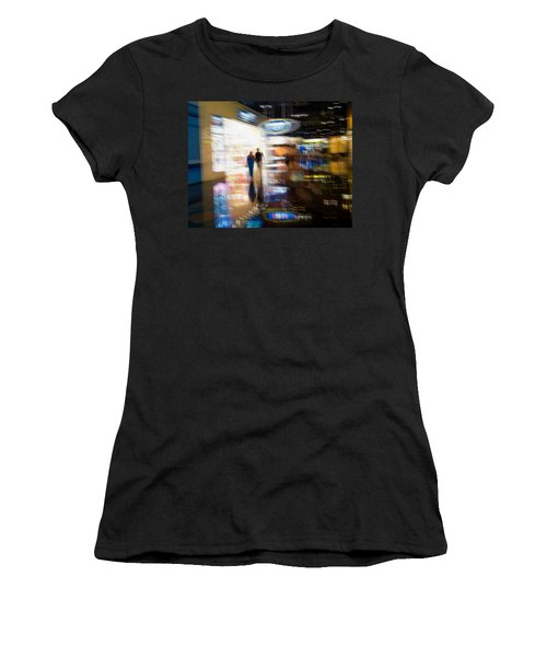 Women's T-Shirt (Junior Cut) featuring the photograph After The Show by Alex Lapidus