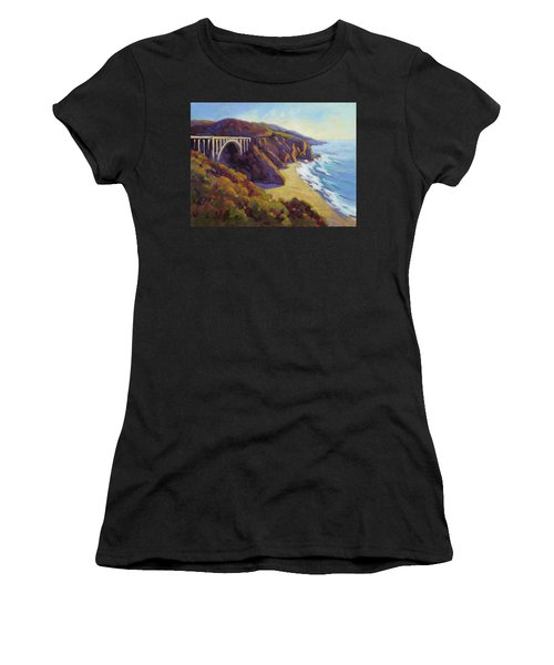Afternoon Glow 3 / Big Sur Women's T-Shirt (Athletic Fit)