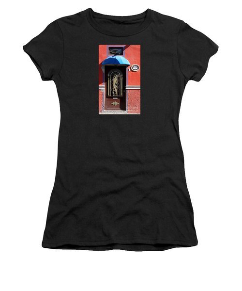 Ajijic Door #8 Women's T-Shirt