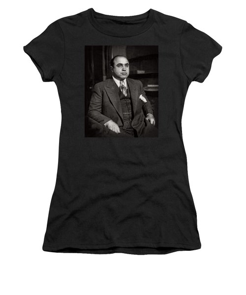Al Capone - Scarface Women's T-Shirt (Athletic Fit)