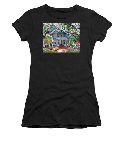 Alameda 1890 Queen Anne Women's T-Shirt (Athletic Fit)