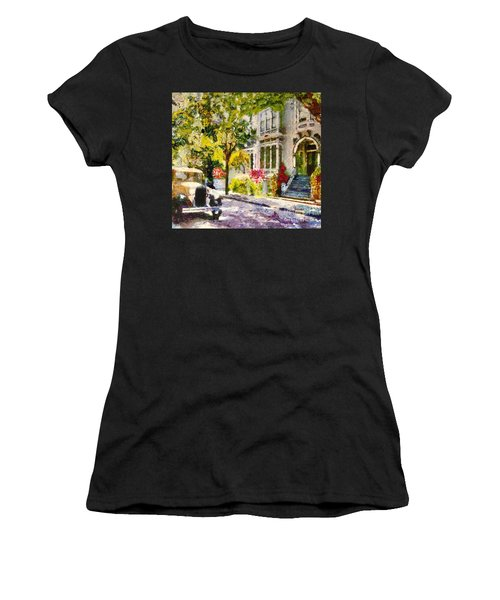Alameda  Afternoon Drive Women's T-Shirt (Athletic Fit)