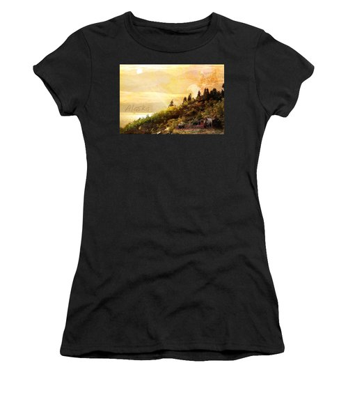 Alaska Montage Women's T-Shirt