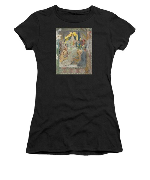 Arabian Nights By Andre Castaigne Women's T-Shirt (Athletic Fit)