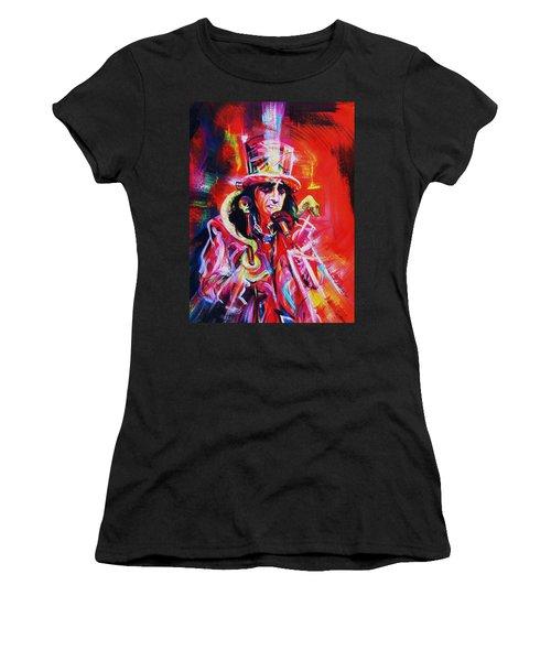 Alice Cooper. The Legend Women's T-Shirt