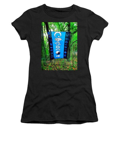 All Are One Women's T-Shirt (Junior Cut) by Carlos Avila
