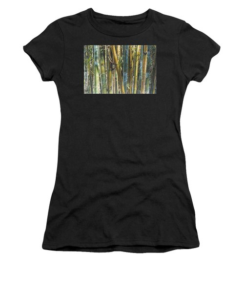 All The Colors Of The Bamboo Rainbow Women's T-Shirt