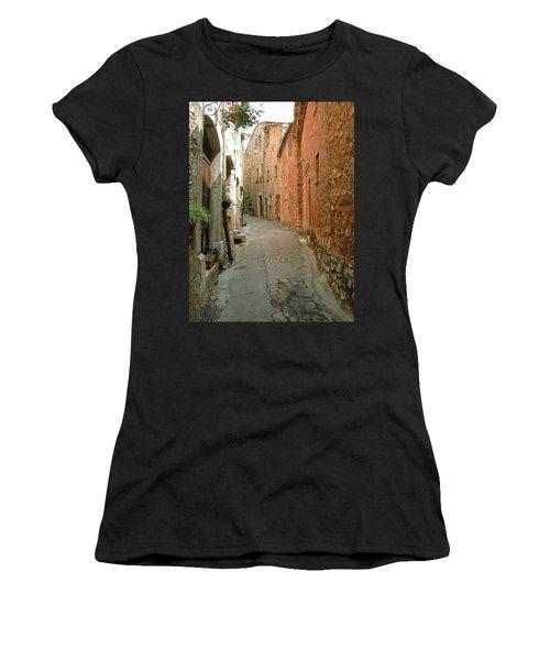 Alley In Tourrette-sur-loup Women's T-Shirt