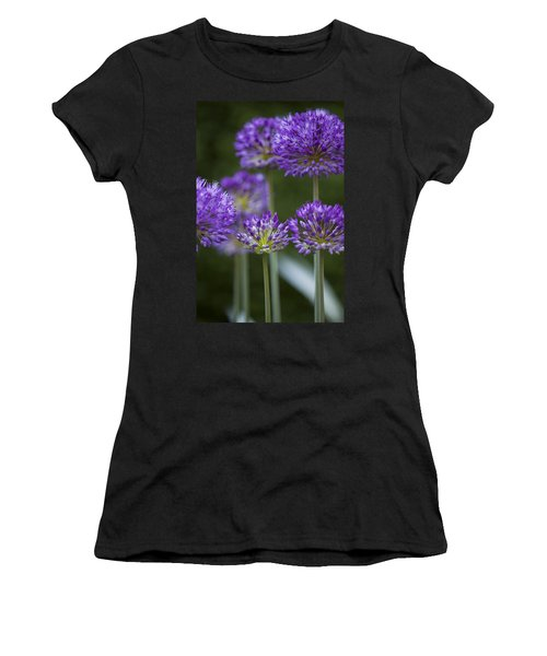 Alliums Women's T-Shirt (Athletic Fit)