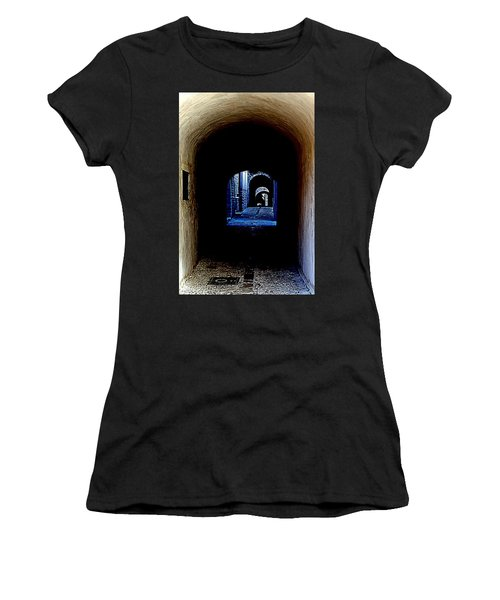 Altered Arch Walkway Women's T-Shirt (Athletic Fit)