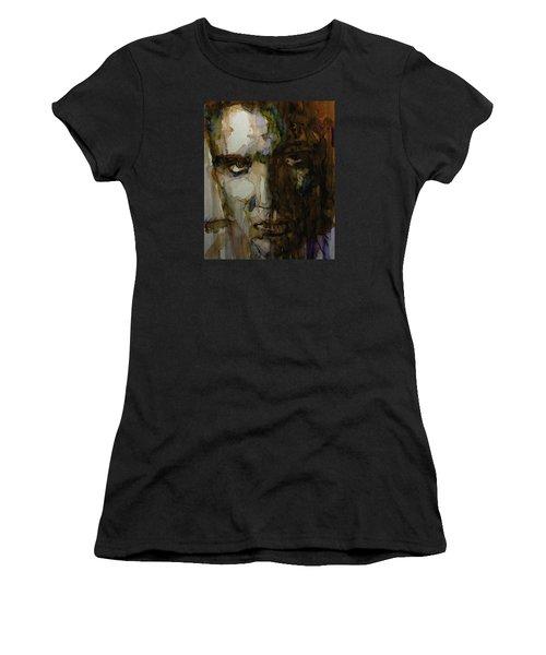 Always On My Mind Women's T-Shirt (Junior Cut) by Paul Lovering