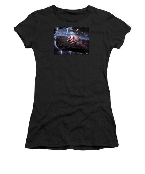 Amazing Grace Women's T-Shirt (Junior Cut) by Bill Stephens