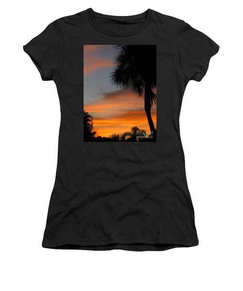 Amazing Sunrise In Florida Women's T-Shirt (Athletic Fit)