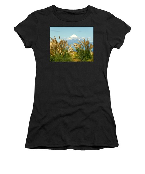 Amber Waves Of Osorno Women's T-Shirt (Athletic Fit)