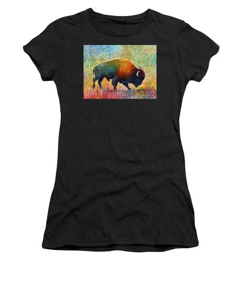 American Buffalo 4 Women's T-Shirt