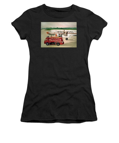 American Dc-6 At Columbus Women's T-Shirt