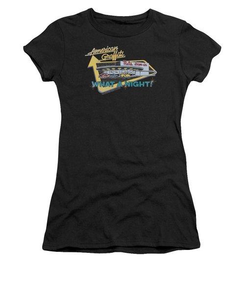 American Grafitti - Mel's Drive In Women's T-Shirt