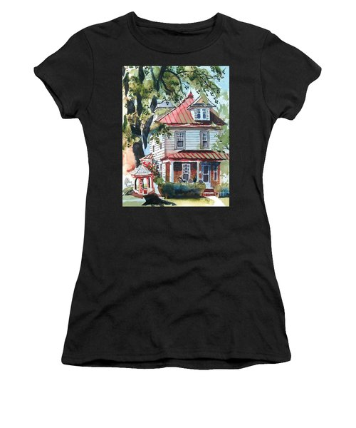 American Home With Children's Gazebo Women's T-Shirt