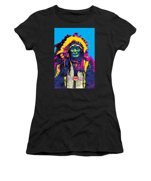 American Indian Chief Women's T-Shirt