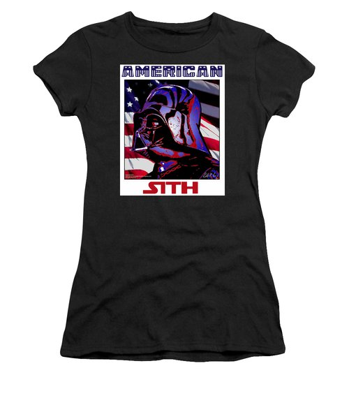 American Sith Women's T-Shirt (Junior Cut) by Dale Loos Jr