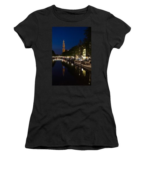 Amsterdam Blue Hour Women's T-Shirt (Athletic Fit)